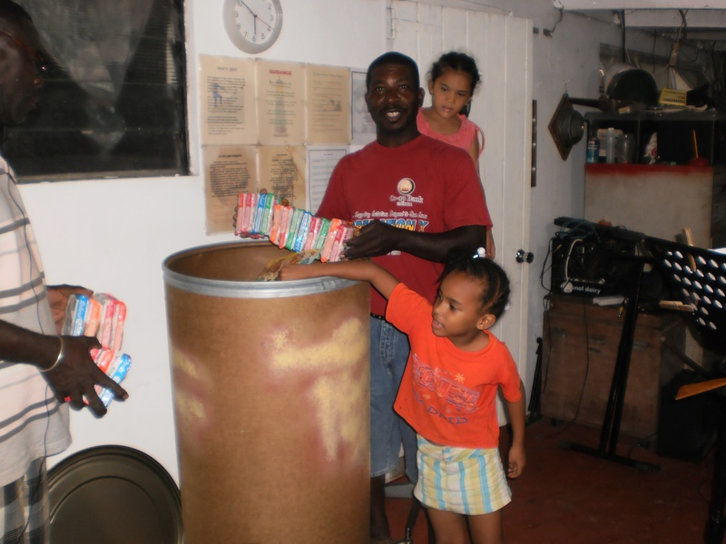 Club Sends Barrel for St Lucia