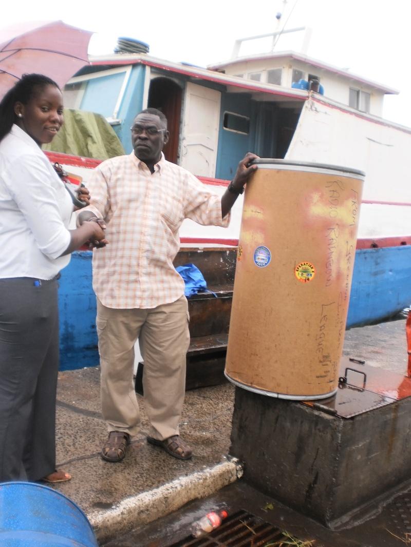 Club Sends Barrel for St Lucia